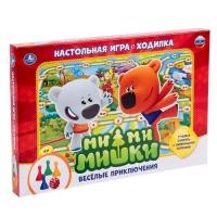 Настольная игра-ходилка МиМиМишки. Веселые приключения