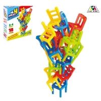 Настольная игра на равновесие На 4 ногах, 18 стульев
