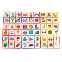 Настольная игра детское умное лото. Контуры
