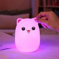 Ночник силиконовый Мишка