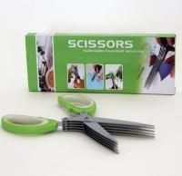 Ножницы для нарезки зелени 5 лезвий Scissor