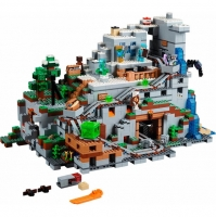 Конструктор Майнкрафт Горная Пещера Lepin 18032 (ЛЕГО Lego 21137)  3043, 33175