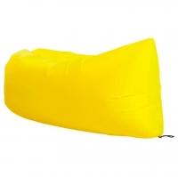 Надувной лежак Ламзак желтый