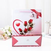 Пакет ламинированный «Розы», 26 х 32 х 11 см