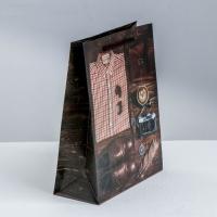 Пакет ламинированный вертикальный Мистер совершенство, MS 18 × 23 × 8 см