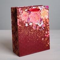 Пакет ламинированный вертикальный «Всё для тебя!», ML 23 × 27 × 8 см