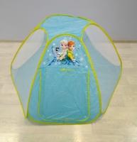 Палатка детская Холодное сердце 140*140*95