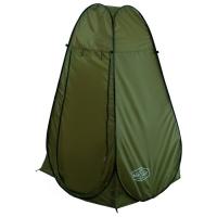 Палатка душ туристическая, 120 х 120 х 195 см, цвет зелёный