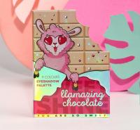 Палетка теней для век Llamazing Chocolate, 9 потрясающих оттенков