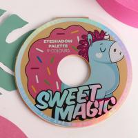 Палетка теней для век Sweet magic, 9 потрясающих оттенков