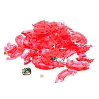 Пазл 3D кристаллический Яблоко, 45 деталей, световой эффект