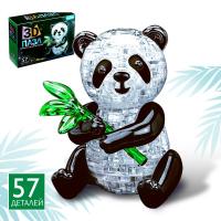 Пазл 3D Панда, 57 деталей