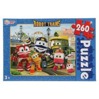 Пазлы Роботы поезда Robot Trains 260 элементов