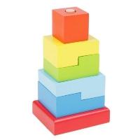 Пирамидка Ступеньки 6 деталей