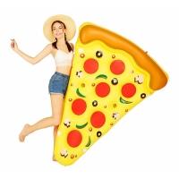 Надувная Пицца (матрас) 180x150 (Желтая)