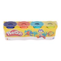Пластилин для лепки Play-Doh, набор 4 баночки оригинал