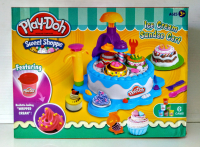Пластилин для лепки Праздничный Торт