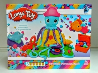 Пластилин Lanyi-Toy Веселый Осьминог (5 баночек)
