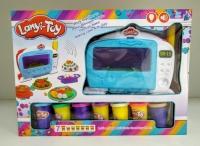 Пластилин Lanyi-Toy Выпечка СВЧ + 7 банок