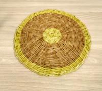 Подставка под тарелку плетенная из бумажной лозы, 29 см