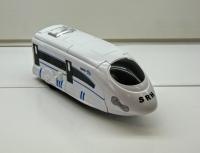 Поезд трансформер маленький (свет, звук)