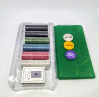 Покер, набор для игры карты 2 колоды, фишки 200 шт