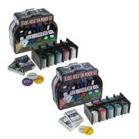 Покерный набор 2 колоды карт, фишки 200 шт., сукно 60x90 см