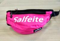 Поясная сумка на пояс Salfeite средняя розовая