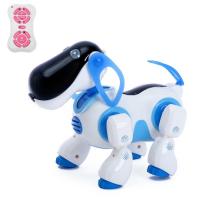 Робот собака радиоуправляемый, интерактивный
