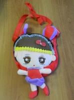 Рюкзак детский в виде куклы