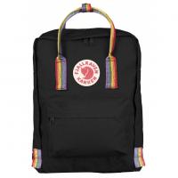 Рюкзак Kanken Rainbow черный