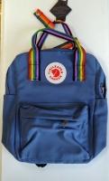 Рюкзак Kanken Rainbow синий