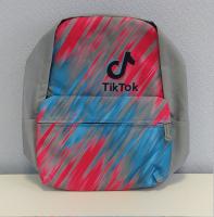 Рюкзак Тик ток TikTok серый северное сияние