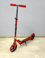 Самокат двухколесный Scooter city красный