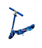 Самокат двухколесный Scooter синий