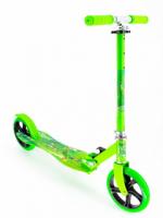Самокат двухколесный Scooter зеленый
