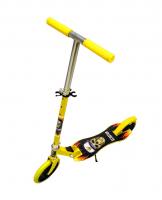 Самокат двухколесный Scooter желтый