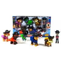 Щенячий патруль 7 в 1 большая коробка со всеми героями (пиратские щенки)