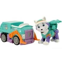 Щенячий патруль инерционная машинка + щенок Эверест
