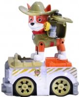 Щенячий патруль инерционная машинка + щенок Трекер