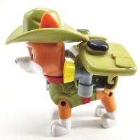 Щенячий патруль щенок с рюкзаком Трекер