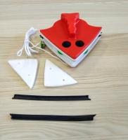 Щетка магнитная для мытья окон и стеклопакетов 18-30 мм.
