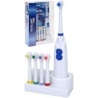 Щетка зубная на батарейках (4 насадки)