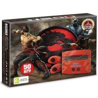 Игровая приставка к ТВ Dendy (Денди) Mortal combat (440 игр) + пистолет