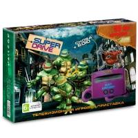 Игровая приставка к ТВ  Sega (Сега) Super Drive Turtles (55 игр)
