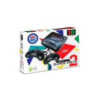 Игровая приставка к ТВ Sega (Сега) Super Drive 2 Classic (62-in-1) White.