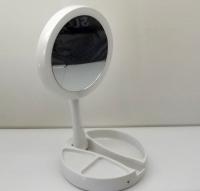 Сенсорное зеркало для макияжа с подсветкой (круглое)
