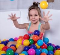 Шарики для сухого бассейна 7,5 см, набор 90 штук, разноцветные АКЦИЯ!
