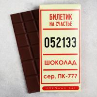 Шоколад молочный Счастливый билет 85 г