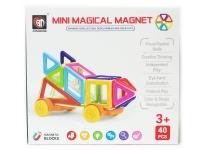 Конструктор магнитный Magical Magnet (40 деталей) (мини)